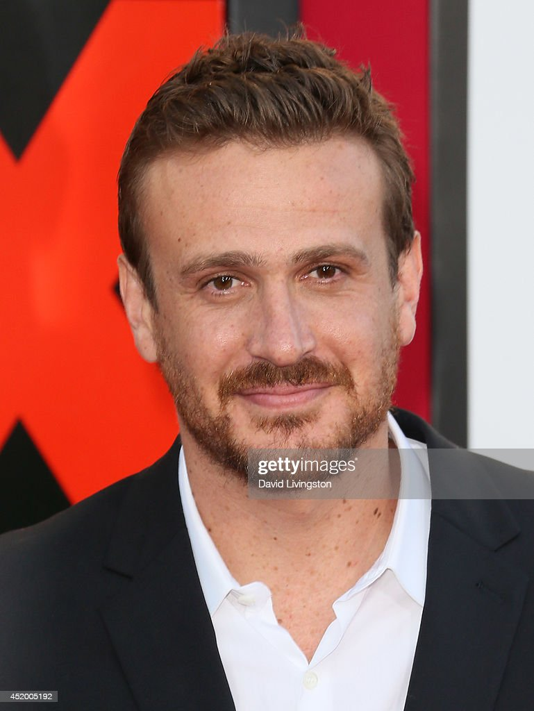 Actor <a gi-track='captionPersonalityLinkClicked' href=/galleries/search?phrase=Jason+Segel&family=editorial&specificpeople=2220388 ng-click='$event.stopPropagation()'>Jason Segel</a> attends the premiere of Columbia Pictures' 'Sex Tape' at the Regency Village Theatre on July 10, 2014 in Westwood, California.
