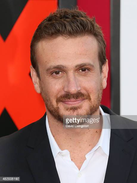 Actor Jason Segel attends the premiere of Columbia Pictures' 'Sex Tape' at the Regency Village Theatre on July 10 2014 in Westwood California