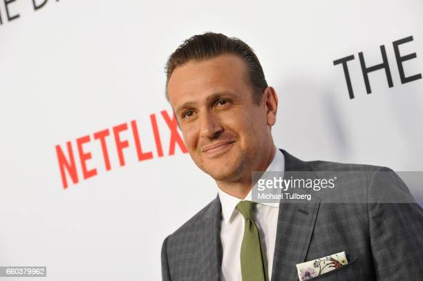 Actor Jason Segel attends the premiere of Netflix's 'The Discovery' at the Vista Theatre on March 29 2017 in Los Angeles California