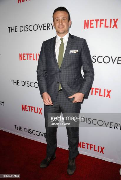Actor Jason Segel attends the premiere of 'The Discovery' at the Vista Theatre on March 29 2017 in Los Angeles California