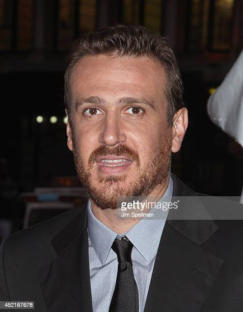 Actor Jason Segel attends the 'Sex Tape' screening at Regal Union Square on July 14 2014 in New York City