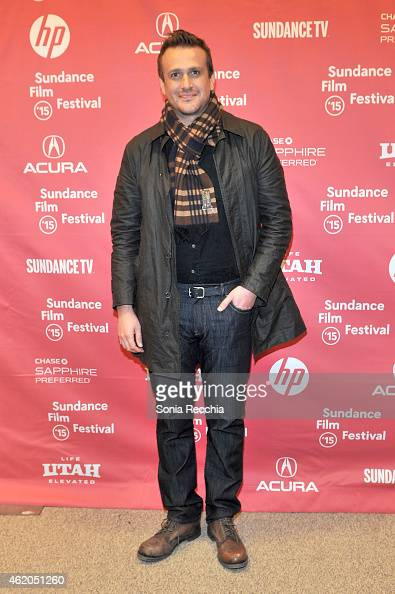 Actor Jason Segel attends the 'The End Of The Tour' Premiere during the 2015 Sundance Film Festival at the Eccles Center Theatre on January 23 2015...