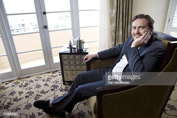 Actor Jason Segel poses for a portrait session at Four Seasons Hotel on July 1 Los Angeles CA Published Image
