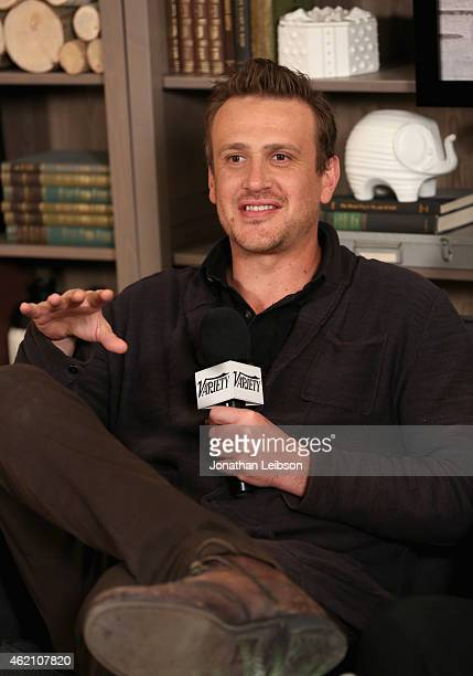 Actor Jason Segel speaks at the The Variety Studio At Sundance Presented By Dockers on January 24 2015 in Park City Utah