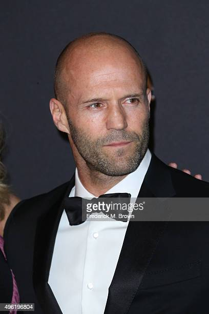 Actor Jason Statham attends LACMA 2015 ArtFilm Gala Honoring James Turrell and Alejandro G Iñárritu Presented by Gucci at LACMA on November 7 2015 in...