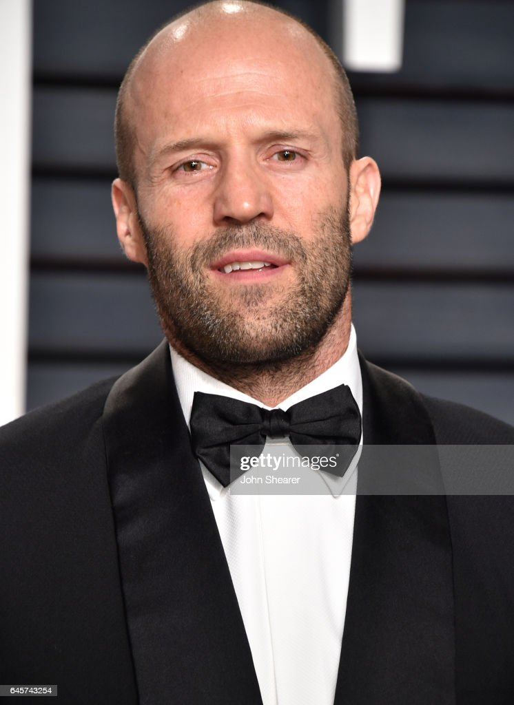 Actor Jason Statham attends the 2017 Vanity Fair Oscar Party hosted by Graydon Carter at Wallis Annenberg Center for the Performing Arts on February 26, 2017 in Beverly Hills, California.