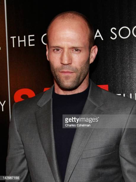 Actor Jason Statham attends the Lionsgate with The Cinema Society TW Steel premiere of 'Safe' at Clearview Chelsea Cinemas on April 16 2012 in New...