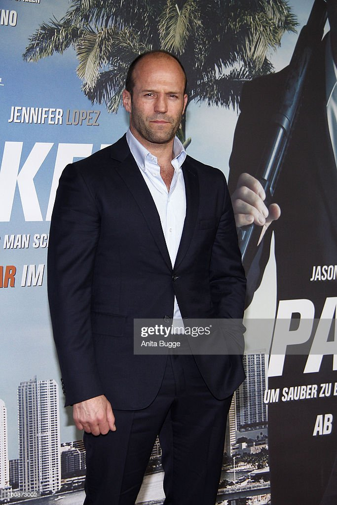Actor Jason Statham attends the 'Parker' Berlin photocall at Regent Hotel on January 30, 2013 in Berlin, Germany.