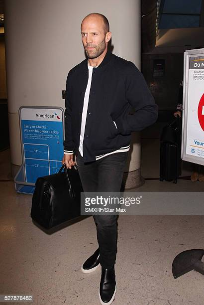 Actor Jason Statham is seen on May 3 2016 in Los Angeles California