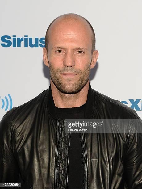 Actor Jason Statham visits SiriusXM Studios on June 1 2015 in New York City
