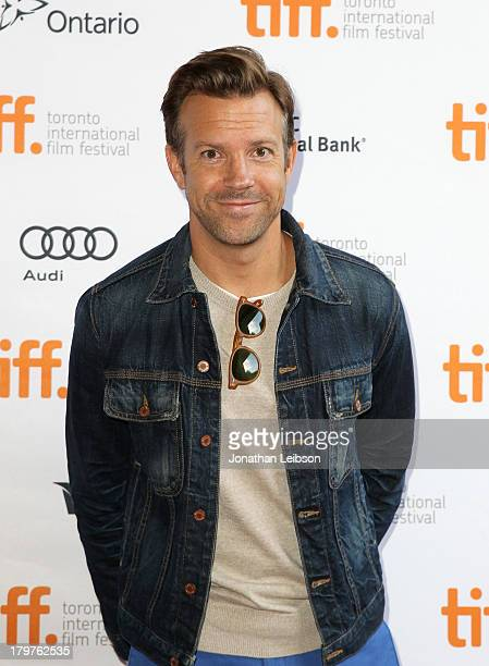 Actor Jason Sudeikis arrives at the Jason Reitman live read of 'Boogie Nights' during the 2013 Toronto International Film Festival at Ryerson Theatre...