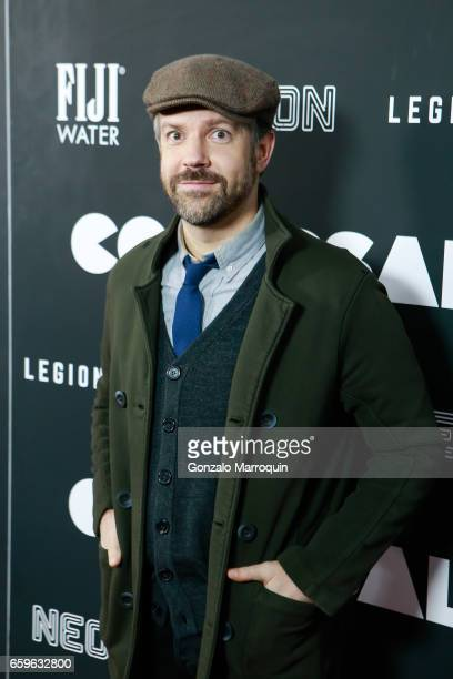 Actor Jason Sudeikis attended the 'Colossal' New York Premiere at AMC Lincoln Square Theater on March 28 2017 in New York City