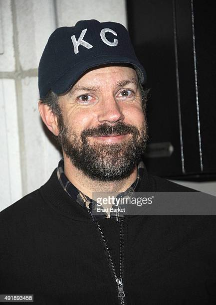 Actor Jason Sudeikis attends 'Fool For Love' Broadway Opening Night at Samuel J Friedman Theatre on October 8 2015 in New York City
