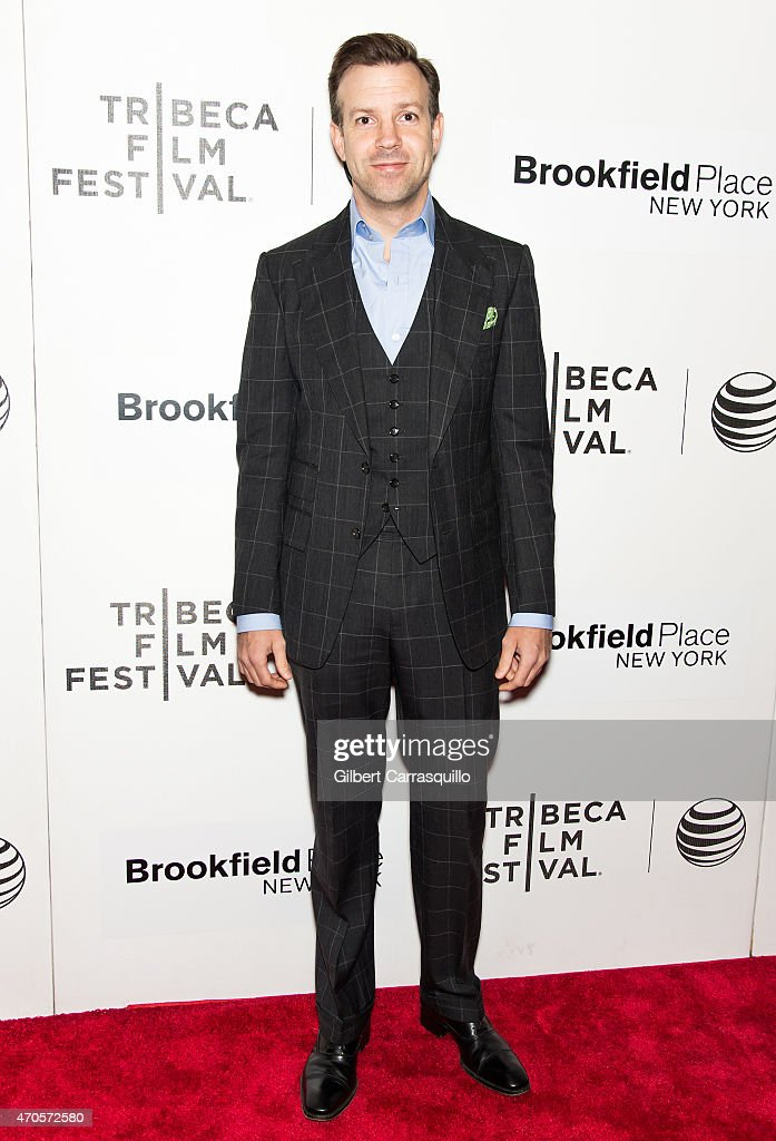 Actor Jason Sudeikis attends the 2015 Tribeca Film Festival New York Premiere 'Sleeping With Other People' at BMCC Tribeca PAC on April 21, 2015 in New York City.