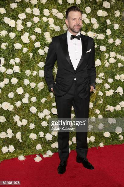 Actor Jason Sudeikis attends the 2017 Tony Awards at Radio City Music Hall on June 11 2017 in New York City