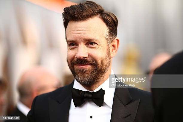 Actor Jason Sudeikis attends the 88th Annual Academy Awards at Hollywood Highland Center on February 28 2016 in Hollywood California