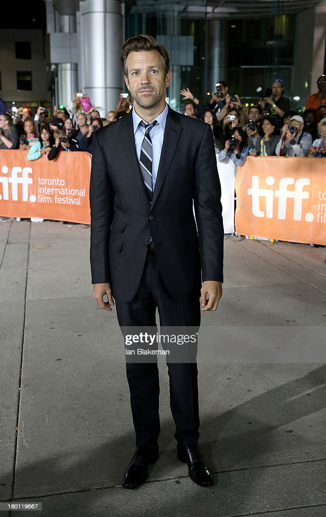Actor Jason Sudeikis attends the 'Rush' premiere during the 2013 Toronto International Film Festival at Roy Thomson Hall on September 8, 2013 in Toronto, Canada.