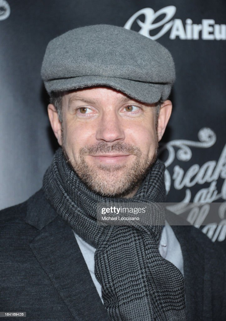 Actor Jason Sudekis attend the 'Breakfast At Tiffany's' Broadway Opening Night at Cort Theatre on March 20 2013 in New York City