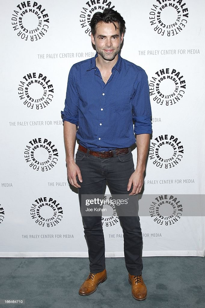 Actor Jason Thompson attends 'General Hospital celebrating 50 years and looking forward' at The Paley Center for Media on April 12, 2013 in Beverly Hills, California.