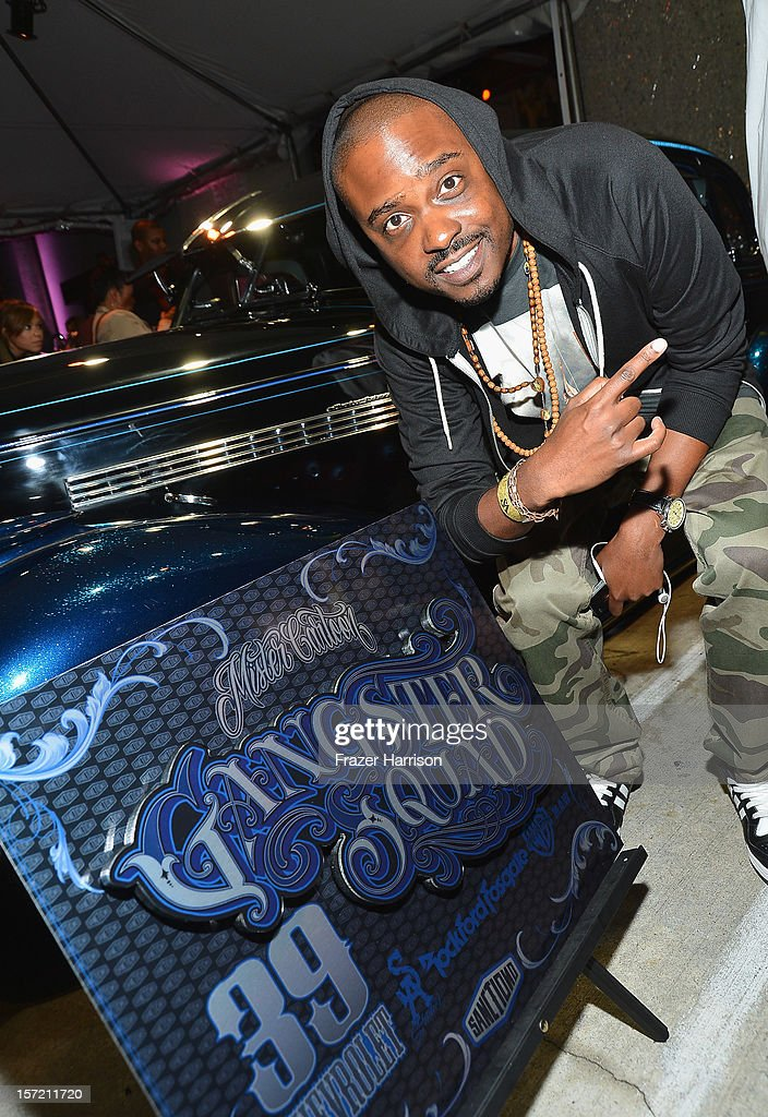 Actor Jason Weaver attends SA Studios and Mister Cartoon VIP Screening and After Party of Warner Brothers Pictures 'Gangster Squad' at SA Studios on November 29, 2012 in Los Angeles, California.