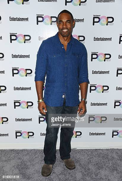 Actor Jason Winston George attends Entertainment Weekly's Popfest at The Reef on October 30 2016 in Los Angeles California