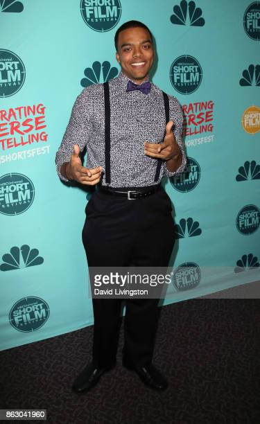 Actor Jason Woods attends the 12th Annual NBCUniversal Short Film Festival finale screening at the Directors Guild of America on October 18 2017 in...
