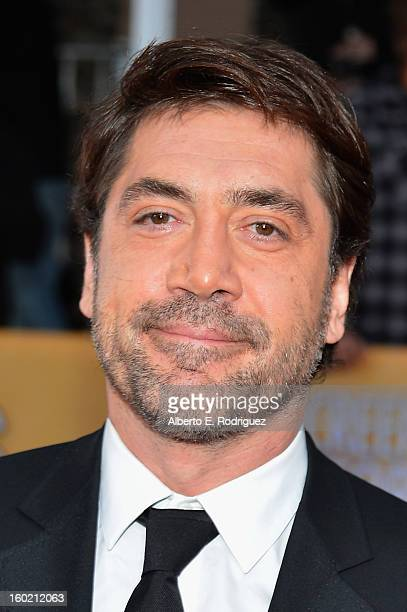 Actor Javier Bardem arrives at the 19th Annual Screen Actors Guild Awards held at The Shrine Auditorium on January 27 2013 in Los Angeles California