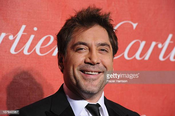 Actor Javier Bardem arrives at the 2011 Palm Springs International Film Festival Awards Gala at the Palm Springs Convention Centre on January 8 2011...