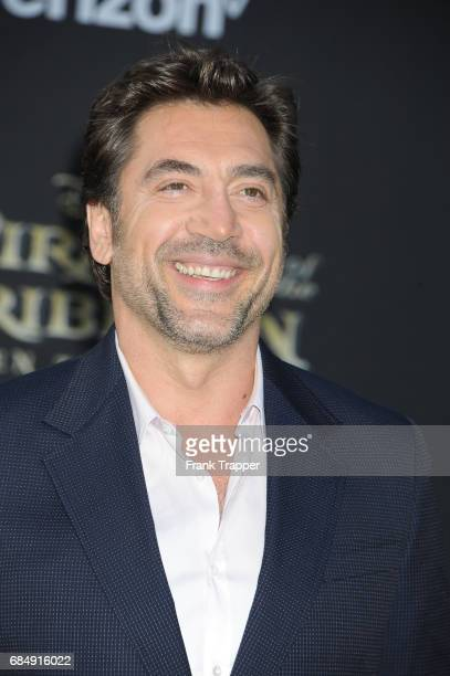 Actor Javier Bardem arrives at the premiere of Disney's 'Pirates of the Caribbean Dead Men Tell No Tales' at the Dolby Theatre on May 18 2017 in...