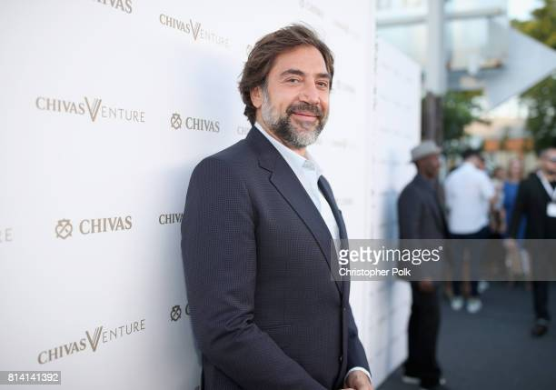 Actor Javier Bardem at The Chivas Venture $1m Global Startup Competition at LADC Studios on July 13 2017 in Los Angeles California