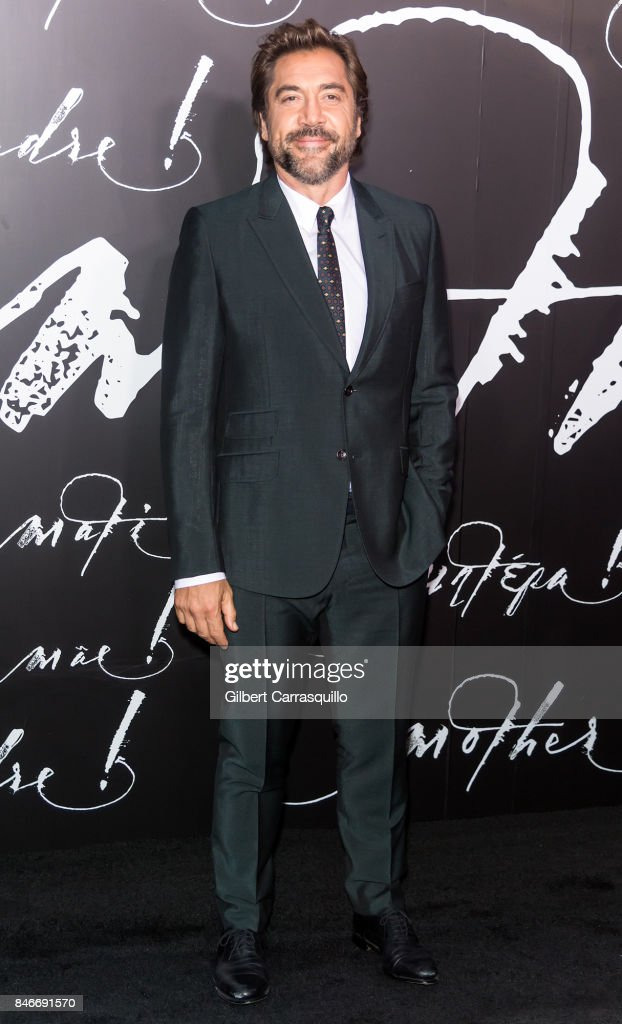 Actor Javier Bardem attends 'mother!' New York Premiere at Radio City Music Hall on September 13, 2017 in New York City.