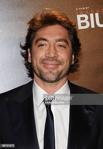 Actor Javier Bardem attends the Biutiful Party at the Majestic Beach during the 63rd Annual Cannes Film Festival on May 17 2010 in Cannes France
