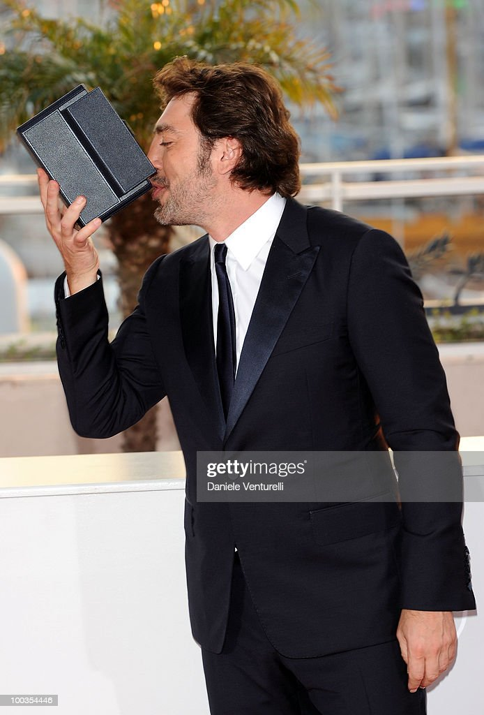 Actor Javier Bardem attends the Palme d'Or Award Ceremony Photo Call held at the Palais des Festivals during the 63rd Annual International Cannes Film Festival on May 23, 2010 in Cannes, France.