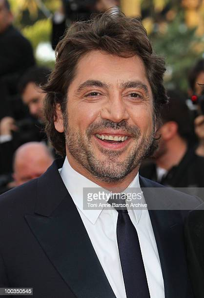 Actor Javier Bardem attends the Palme d'Or Closing Ceremony held at the Palais des Festivals during the 63rd Annual International Cannes Film...