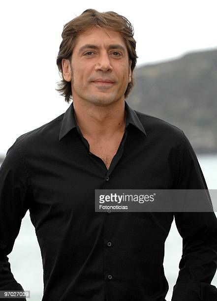 Actor Javier Bardem attends the photocall for 'Vicky Cristina Barcelona' at The Kursaal Palace during the 56th San Sebastian Film Festival on...