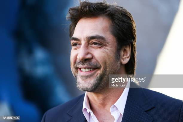 Actor Javier Bardem attends the premiere of Disney's 'Pirates Of The Caribbean Dead Men Tell No Tales' at Dolby Theatre on May 18 2017 in Hollywood...