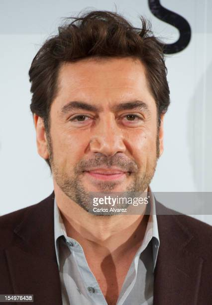 Actor Javier Bardem attends the 'Skyfall' photocall at the Villamagna Hotel on October 29 2012 in Madrid Spain