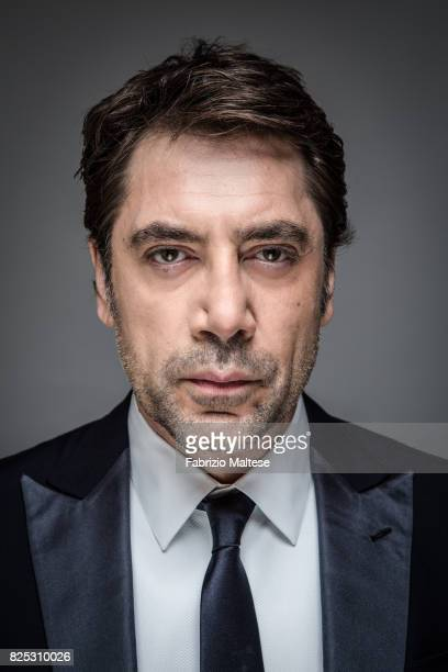 Actor Javier Bardem is photographed for The Hollywood Reporter on May 20 2016 in Cannes France