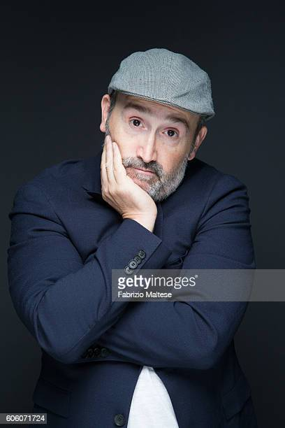 Actor Javier Camara is photographed for Self Assignment on September 4 2016 in Venice Italy