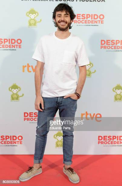 Actor Javier Pereira attends the 'Despido procedente' photocall at Callao cinema on June 29 2017 in Madrid Spain
