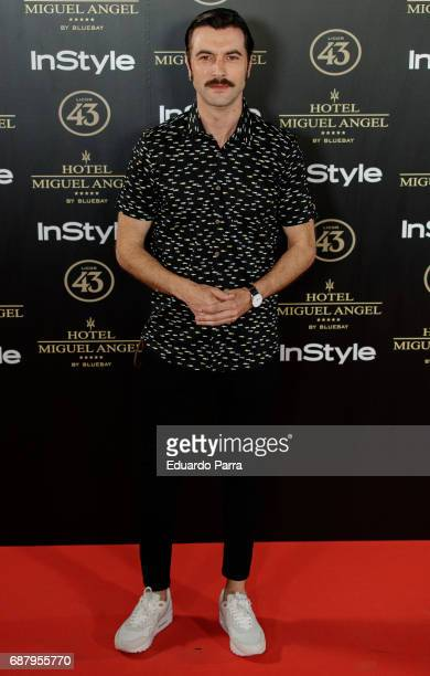 Actor Javier Rey attends the 'El Jardin del Miguel Angel' party photocall at Miguel Angel hotel on May 24 2017 in Madrid Spain