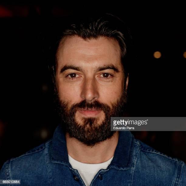 Actor Javier Rey attends the 'El Pelotari y la Fallera' premiere at Callao cinema on April 5 2017 in Madrid Spain