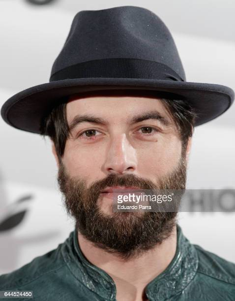 Actor Javier Rey attends the 'Fashion arts' photocall at Reina Sofia museum on February 23 2017 in Madrid Spain