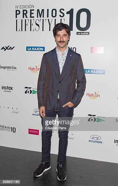 Actor Javier Rey attends the 'Lifestyle awards' photocall at Barcelo theatre on June 8 2016 in Madrid Spain