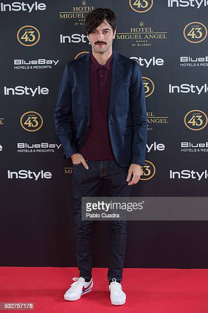 Actor Javier Rey attends the 'Live in Colors' photocall during the InStyle Beauty Day at the Miguel Angel Hotel Garden on May 19 2016 in Madrid Spain