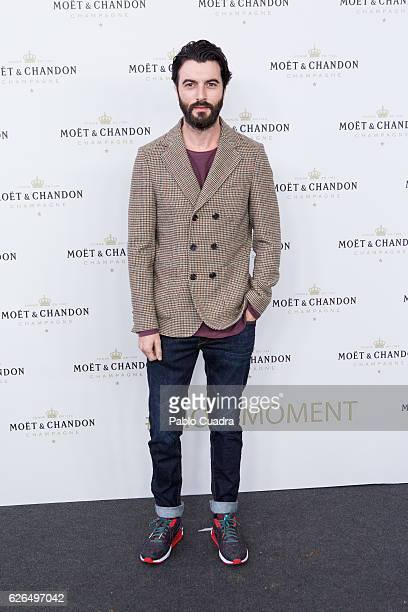 Actor Javier Rey attends the 'Moet Chandon' New Year's Eve party at Florida Retiro on November 29 2016 in Madrid Spain