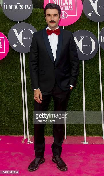 Actor Javier Rey attends the 'Yo Dona' international awards at La Quinta de la Munoza on June 27 2016 in Madrid Spain