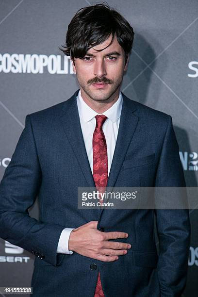 Actor Javier Rey attends VIII Cosmopolitan Fun Fearless Female Awards at Ritz hotel on October 27 2015 in Madrid Spain