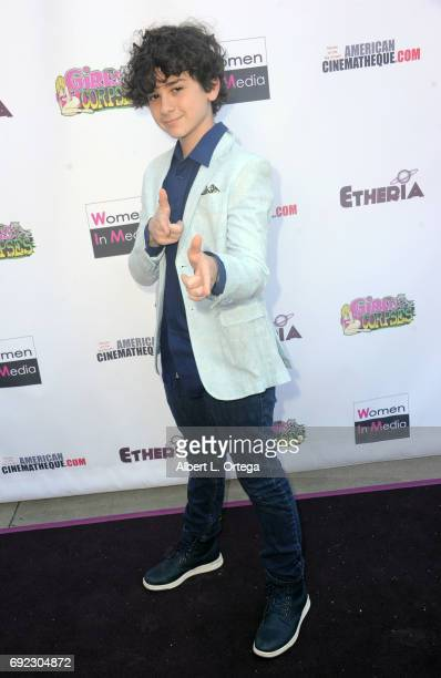 Actor Jax Malcolm arrives for Etheria Film Night held at The Egyptian Theatre on June 3 2017 in Los Angeles California