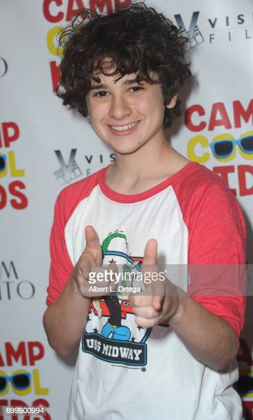 Actor Jax Malcolm arrives for the Premiere Of Vision Films' 'Camp Cool Kids' held at AMC Universal City Walk on June 21 2017 in Universal City...